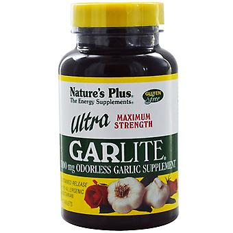 Nature's Plus Ultra Garlite 1000mg Sustained Release Tabs 90 (3964)