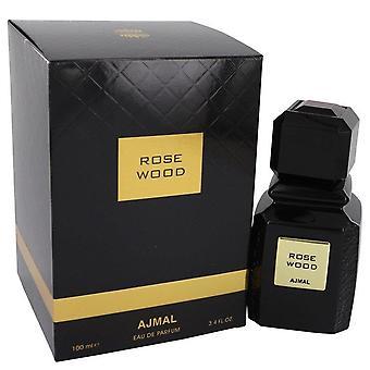 Ajmal rose wood eau de parfum spray door ajmal 542011 100 ml