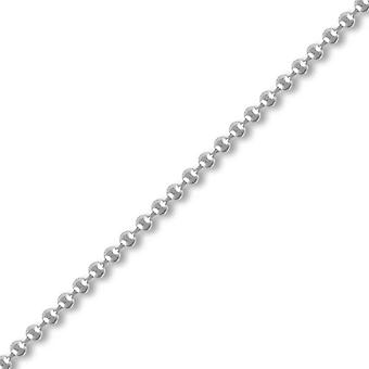 Jewelco London Sterling Silver 2mm Gauge Bead Chain Bead Chain