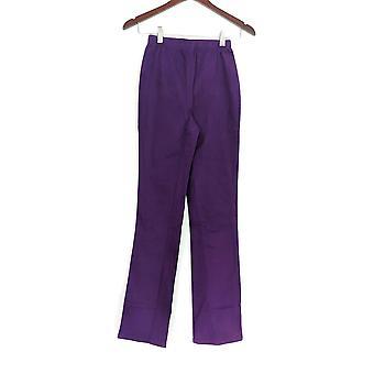 Denim & co. leggings XXS tall stretch Boot cut Purple A01725