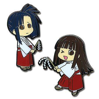 Pin Set - Negima - New Konoka & Setsuna (Set of 2) Anime Licensed ge7361