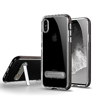 TPU Case with phone rack + 2pcs screen protection iPhone XR