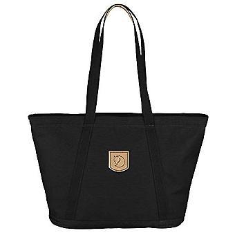 FJALLRAVEN Totepack No.4 Wide - Women's Backpack - Black (Black) - 45 centimeters