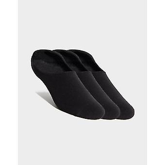 New McKenzie Men's 3 Pack Invisible Socks Black