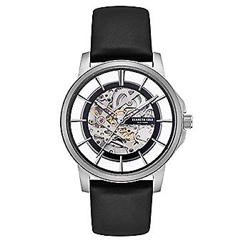 Kenneth Cole Analog automatic men's watch with leather KC50227001