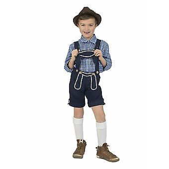 Kostüm Bayernhose Hias Kinderkostüm Jungenkostüm Trachten Junge für Karneval Fasching Bayern