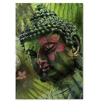 Painel Deco, samambaias de Buda