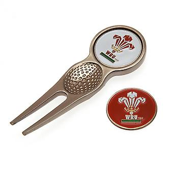 Wales RU Divot Tool And Marker