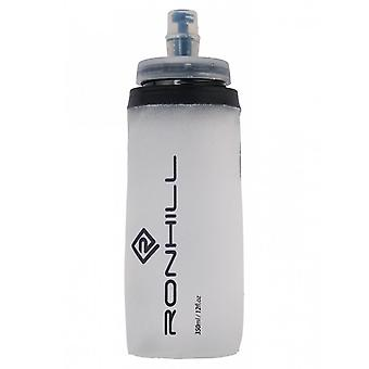 Ronhill Fuel Flask Lightweight Roll Up Bite Valve Silicone Run Bottle - 350ml