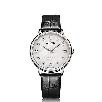 Rotary LS05170-41 Women's Kensington Silver Tone Wristwatch