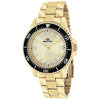 Seapro Women's Tideway Gold Dial Watch - SP5413