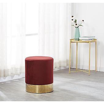 Darlington Velvet Pouffe