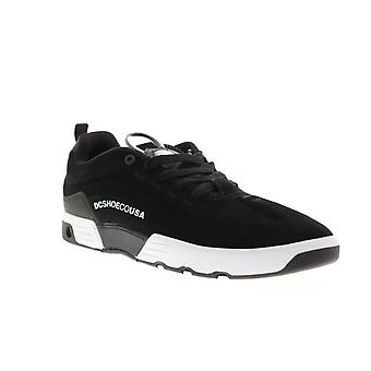 DC Legacy 98 Vac S  Mens Black Suede Lace Up Athletic Skate Shoes