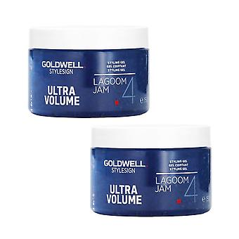2-pack Goldwell Lagoom Jam Volume Gel 150ml