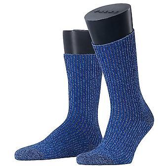 Esprit struktur støvel sokker-blå røyk