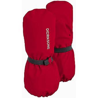 Didriksons Kinder Pileglove 3 Wasserdichte Handschuhe | Chili Red