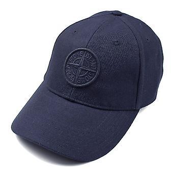 Stone Island 99175 Cotton Logo Cap Navy V0020