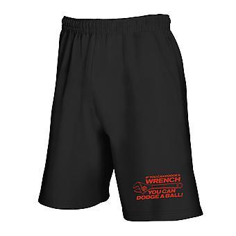 Black tracksuit shorts trk0392 wrench