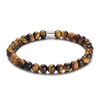 Mannen tiger's Eye armband