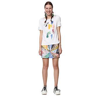 Desigual Women's Canterbury Paint Stroke Art Tshirt