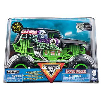 Monster Jam - Die Cast 1:24 Scale Truck - Grave Digger