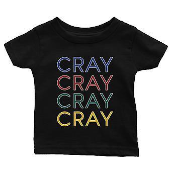 365 tulostaminen Cray Baby graafinen T-paita lahja musta vauva tee vauva suihku lahja