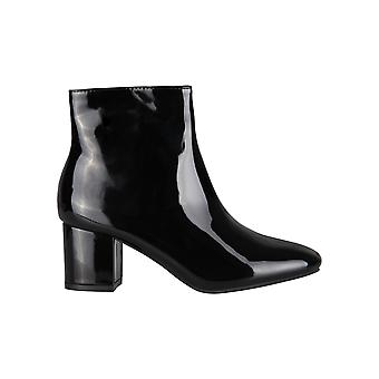Femmes Dames Low Block Heel Ankle Boots Comfy Fashion Booties Winter Shoes Party