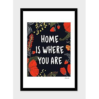 Home is where you are  frame