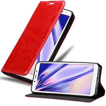 Cadorabo kotelo Xiaomi RedMi 6A tapauksessa kansi - Puhelinkotelo magneettilukko, seistä toiminto ja korttiosasto - case cover suojakotelo kirja taitto tyyli