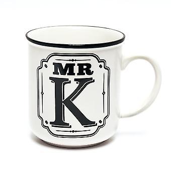 Histoire et Héraldique Alphabet Mugs-mr K