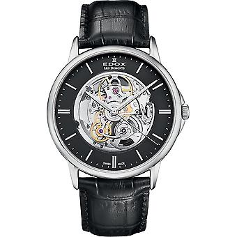 Edox 85300 3 NIN Les Bémonts Relógio Masculino