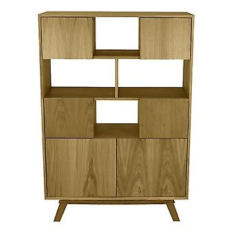 Fusion Living Danese Tall Oak Sideboard