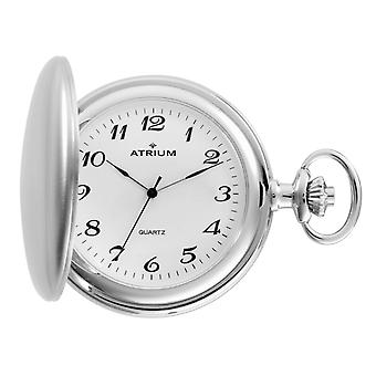 ATRIUM watch pocket watch silver/white stainless steel A20-80