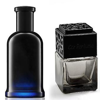 Hugo Boss Bottled For Him Inspired Fragrance 8ml Smoked Black Bottle Car Air Freshener Vent Clip