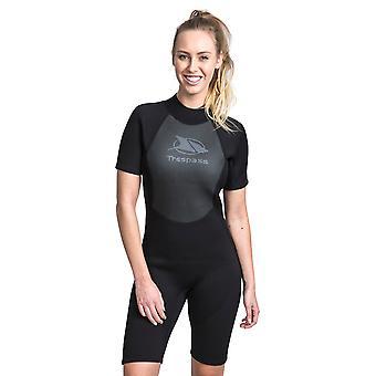 Trespass Womens Scubadive 3mm Kort Wetsuit