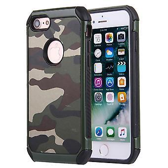 Stødsikker Camouflage Shell til iPhone 7