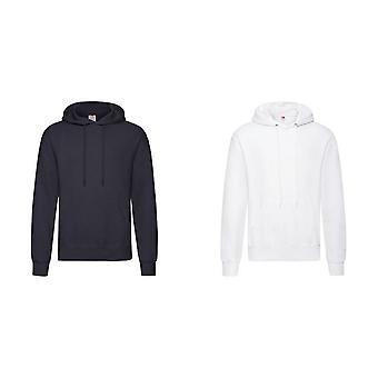 Fruit Of The Loom Unisex Adults Classic Hooded Sweatshirt