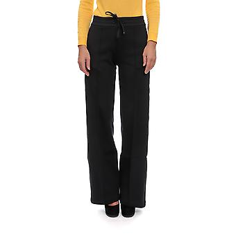Moncler 8752780v8037999 Women's Black Cotton Pants