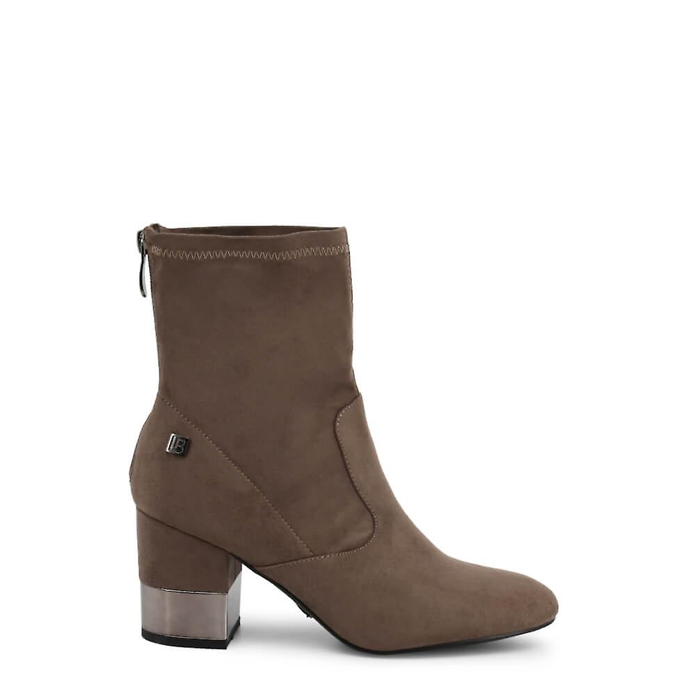 Laura Biagiotti Original Women Fall/Winter Ankle Boot - Brown Color 36019 hapdo