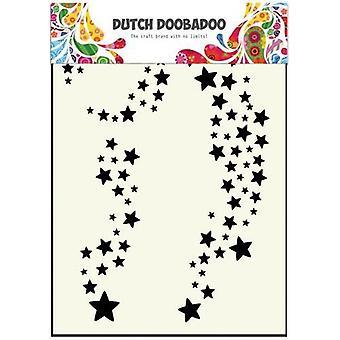 Hollannin Doobadoo A6 naamio taidetta kaavain - tähteä #715400