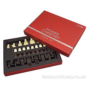 Die offizielle Lewis Schachfiguren Mitte Größe