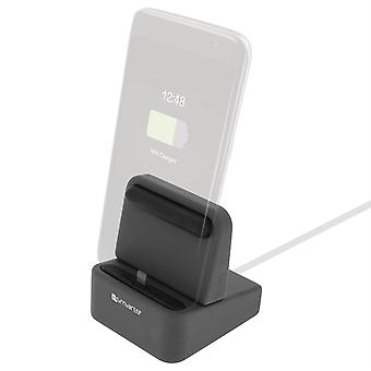 4Smarts Wiredock, Charge Dock, - Lightning, USB Type-C and Micro-USB, Black