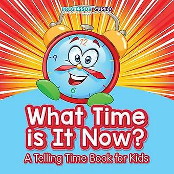 What Time Is It Now   A Telling Time Book for Kids by Gusto & Professor