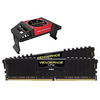 Corsair Vengeance LPX High Performance Desktop Memories with Airflow Fan, 16 GB (2 X 8 GB), DDR4, 4600 MHz, C19 XMP 2.0, Black