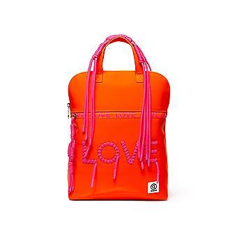 Desigual Women-apos;s Pop Fluor Nanaimo Orange Backpack with Pink Love Lettering Desigual Women-apos;s Pop Fluor Nanaimo Orange Backpack with Pink Love Lettering Desigual Women-apos;s Pop Fluor Nanaimo Orange Backpack with Pink Love Lettering Desigu