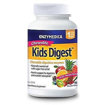 Enzymedica Kids Digest Chewable Tabs 90 (31037)