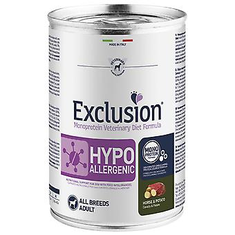 Exclusion Diet Formula Hypoallergenic Caballo y Patata (Dogs , Dog Food , Wet Food)
