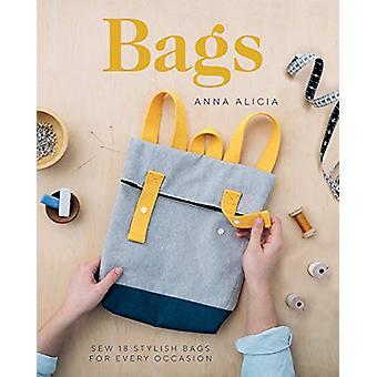 Tassen - Naai 18 stijlvolle tassen voor elke gelegenheid door Anna Alicia - 9781787