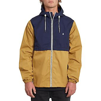 Volcom Howard Hooded Jacket in Bronze