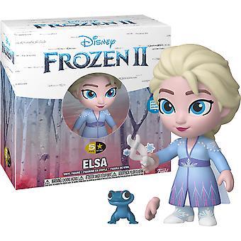 Frozen II Elsa 5 Estrelas Vinil